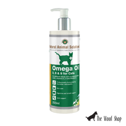 Natural Animal Solutions Omega 3, 6, 9 Oil for Cats 200ml