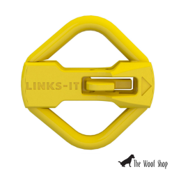 LINKS-IT Pet Tag Connector Yellow