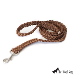Kiss My Mutt Two-toned Braided Leash Vancouver Island