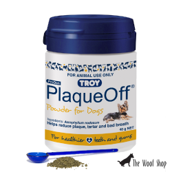 Troy Plaque Off Dog Dental Plaque 40g
