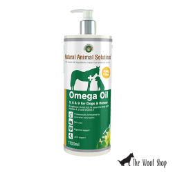 Natural Animal Solutions Omega 3, 6, 9 Oil for Dogs and Horses 1L