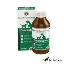 Natural Animal Solutions RespraEze respiratory support for Dogs and Cats